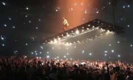 "Kanye West on the ""Saint Pablo"" Tour."