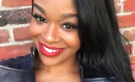 This is Azealia Banks' Instagram selfie.