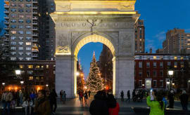 chistmas-washington-square