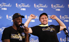 klay thompson nba finals