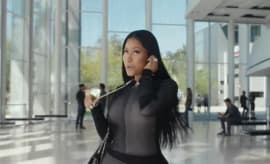 This is Nicki Minaj in Beats by Dre's commercial.