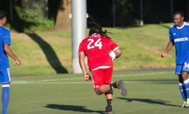 Marshawn Lynch plays soccer.