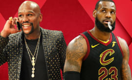 LeBron to Warriors?!; Mayweather Fighting MMA?!; Can't-Lose Super Bowl Bets | Out of Bounds