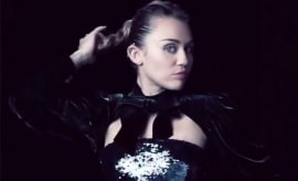 This is a photo of Miley Cyrus.