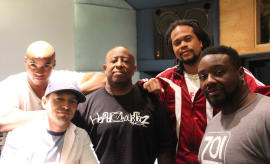 Cast and crew of The Breaks