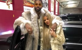 Tristan Thompson and Khloé Kardashian.