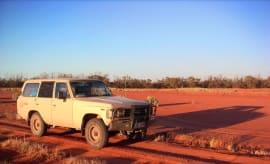 4WD in Australian Outback