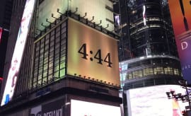 4:44 ad in Times Square