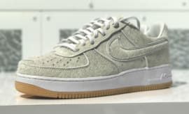 DJ Clark Kent x Nike Air  Force 1 Low Got White Profile