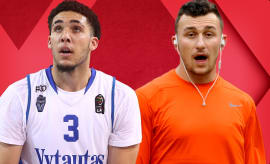 Will An NBA Team Actually Draft LiAngelo Ball?; Johnny Manziel Headed to CFL? | Out of Bounds