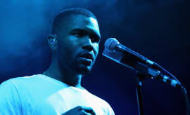 Frank Ocean performs at The Other Tent