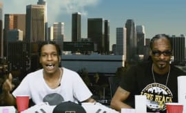 ASAP Rocky and Snoop Dogg