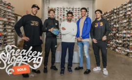 Ball Family Sneaker Shopping