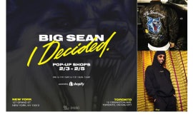 "Big Sean ""I Decided"" Pop-Up Shops"