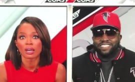 Cari Champion and Big Boi's awkward interview.