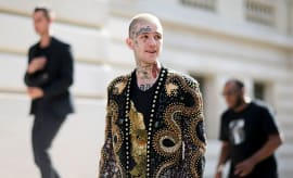 This is a photo of Lil Peep.