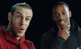Gareth Bale and Anthony Martial