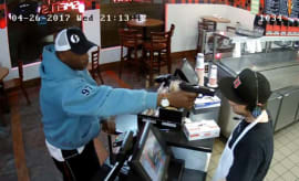 Jimmy Johns cashier robbed at gunpoint