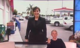 Kris Jenner on 'Ellen'.
