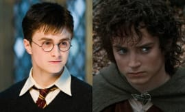 Harry Potter & Frodo