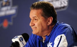 John Calipari Kentucky 2016 NCAA Tournament