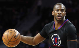 Chris Paul Clippers Pistons 2016