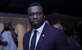 50 Cent at the 'Power' Season 4 premiere