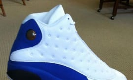 Quentin Richardson Air Jordan 13 White Blue