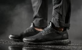 Haven Adidas Ultra Boost Triple Black On Feet