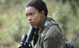 Sonequa Martin-Green on 'Walking Dead'