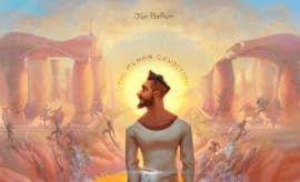 This is Jon Bellion's album art for 'The Human Condition.'