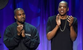 jay and kanye tidal launch