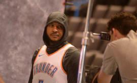 Carmelo Anthony Hoodie Oklahoma City 2017