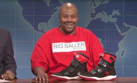 LaVar Ball LiAngelo Ball Sneakers SNL