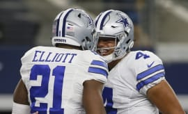 Dak Prescott Ezekiel Elliott Dallas Cowboys 2016