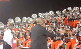 "FAMU Marching Band Plays Kanye West's ""Father Stretch My Hands"""
