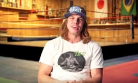 Mark Riddle during interview for FloSlam.