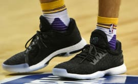 Lonzo Ball Wearing the Adidas Harden LS in Summer League On-Foot