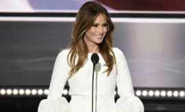 Melania Trump speaks at RNC.
