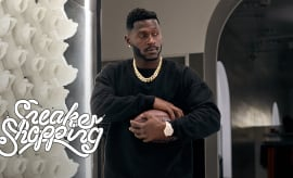 Antonio Brown Goes Sneaker Shopping With Complex | Sneaker Shopping