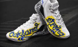Under Armour Curry 3 Oakland Fire Sneakers