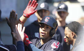 Francisco Lindor Indians White Sox 2017