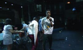 ASAP Mob performs on 'The Late Show With Stephen Colbert.'
