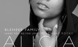 "Alicia Keys' ""Blended Family (What You Do For Love)"" single cover."