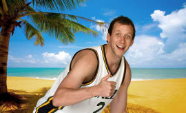 Joe Ingles on Summer Vacation