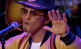 Bruno Mars on Charlie Rose