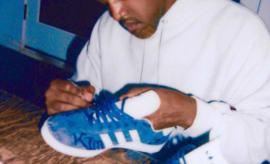 Kanye West Custom Adidas Gazelle