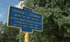 Harriet Tubman sign