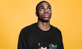 This is a photo of Vince Staples.