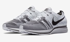 Flyknit Trainer White Black AH8396-100
